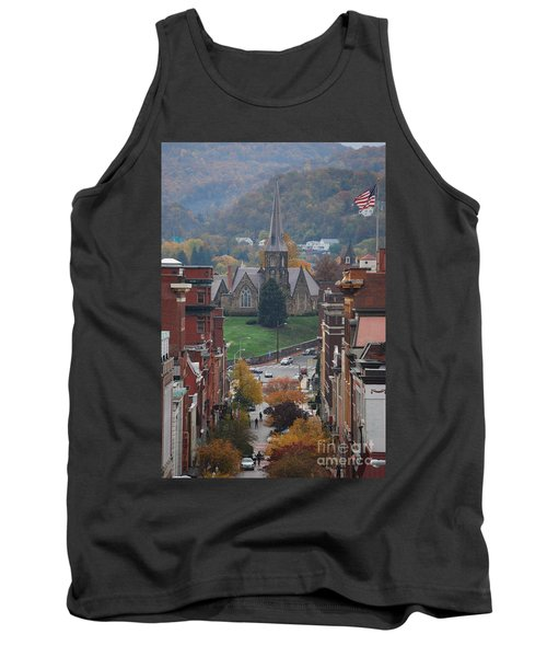 Tank Top featuring the photograph My Hometown Cumberland, Maryland by Eric Liller