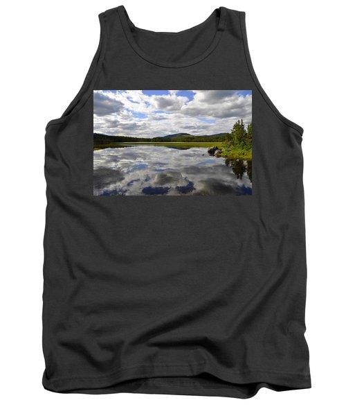 Hon Lake Tank Top by Thomas M Pikolin