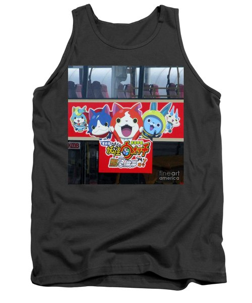 Tank Top featuring the photograph Hong Kong Bus by Randall Weidner
