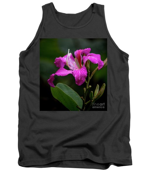 Hong Kong Orchid Tank Top