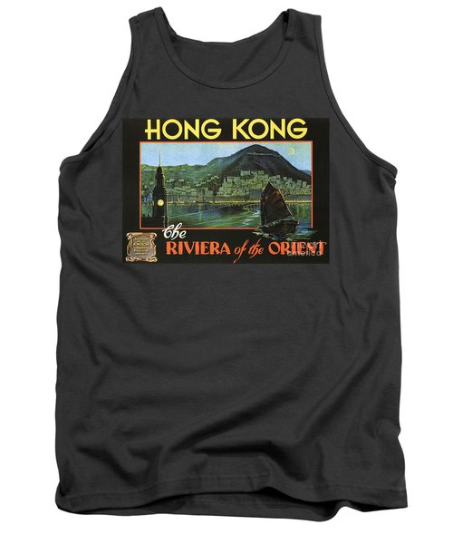 Hong Kong - Riviera Of The Orient Tank Top by Roberto Prusso