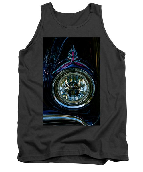 Tank Top featuring the photograph Hood Wink 55 Lincoln by Trey Foerster