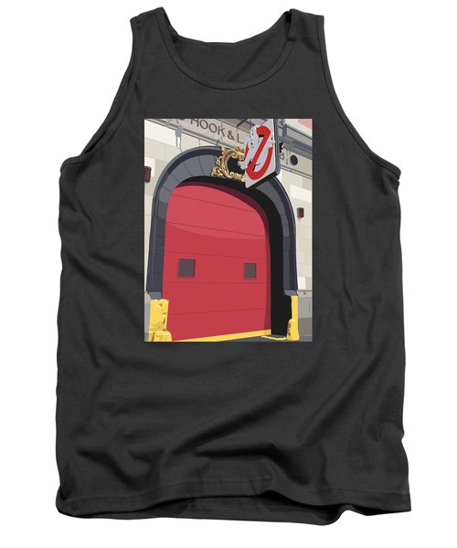 Hook And Ladder No. 8 Tank Top by Kurt Ramschissel