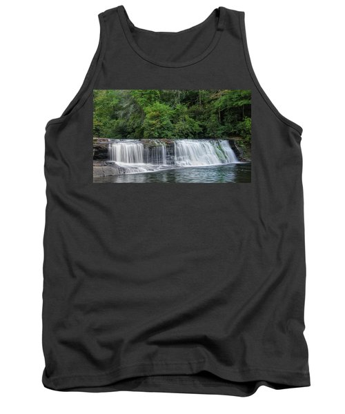 Tank Top featuring the photograph Hooker Falls by Steven Richardson