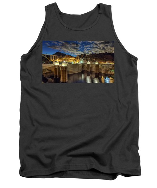 Tank Top featuring the photograph Hoover Dam by Michael Rogers