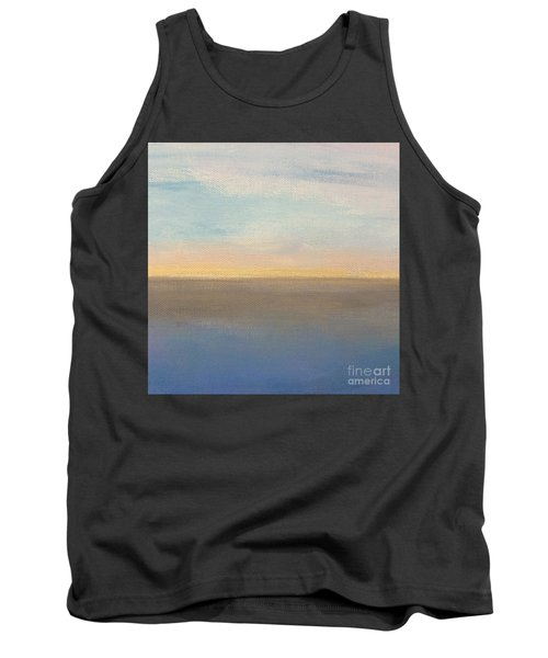 Tank Top featuring the painting Horizon Aglow by Kim Nelson