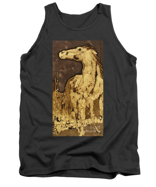 Horse Above Stones Tank Top