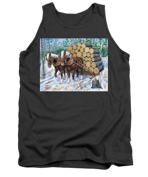 Horse Log Team Tank Top