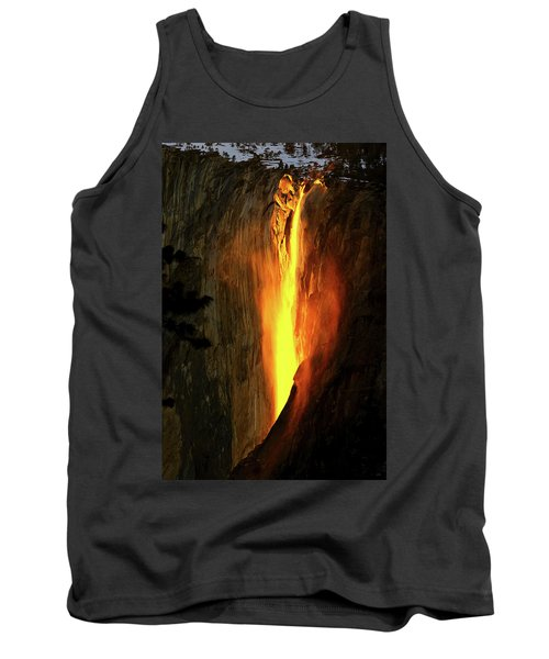 Horse Tail Fall Aglow Tank Top by Greg Norrell