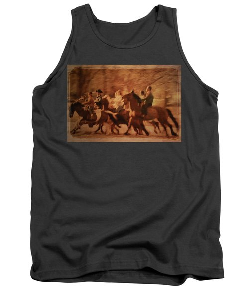 Horses In Motion  Tank Top