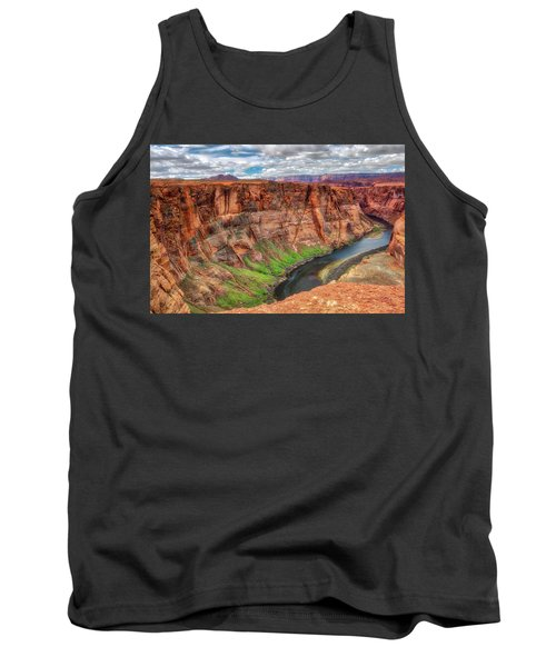 Tank Top featuring the photograph Horseshoe Bend Arizona - Colorado River #5 by Jennifer Rondinelli Reilly - Fine Art Photography