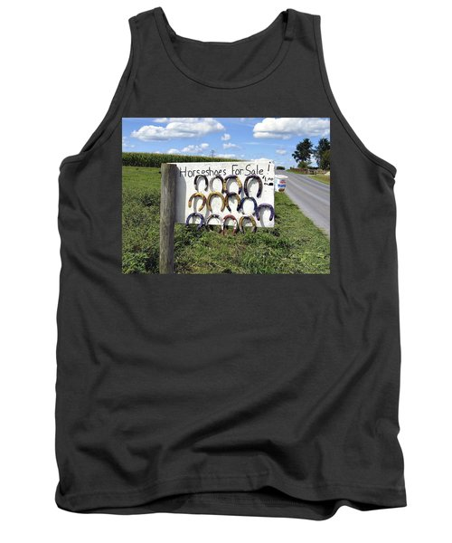 Horseshoes For Sale Tank Top