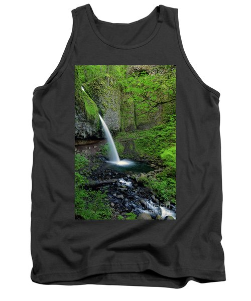 Horsetail Falls Waterfall Art By Kaylyn Franks Tank Top