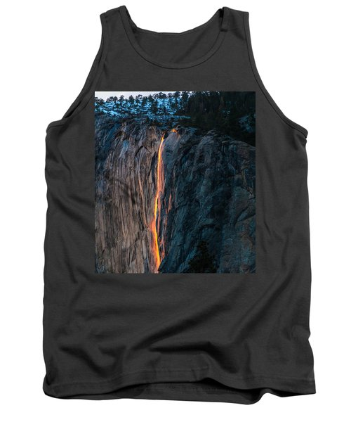 Horsetail Water Fall Glow Tank Top
