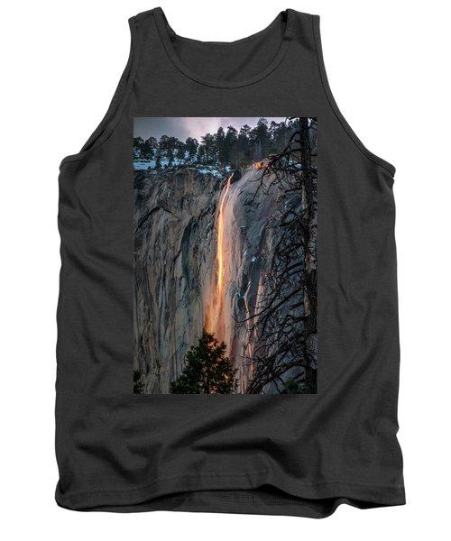 Horsetail Waterfall Glow 2017-2-24 Tank Top