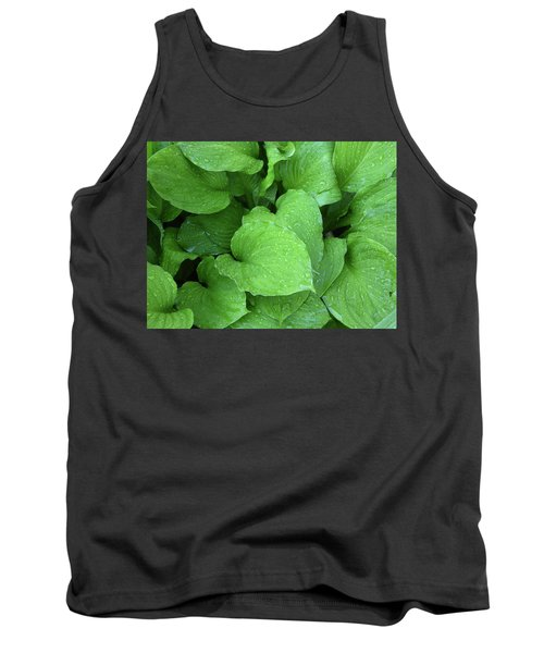 Hostas After The Rain IIi Tank Top