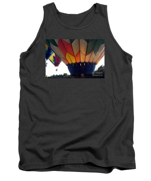 Hot Air Balloon Tank Top by Debra Crank