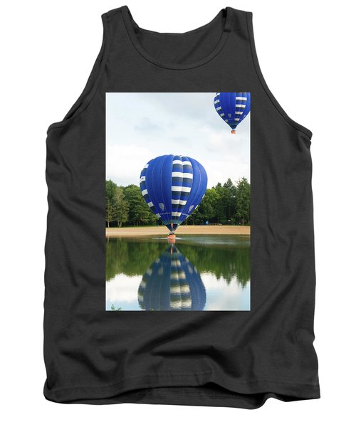 Tank Top featuring the photograph Hot Air Balloon by Hans Engbers