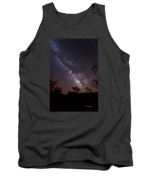 Hot August Night Under The Milky Way Tank Top