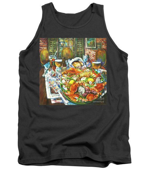 Hot Boiled Crabs Tank Top