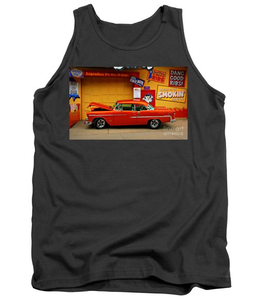 Hot Rod Bbq Tank Top by Perry Webster