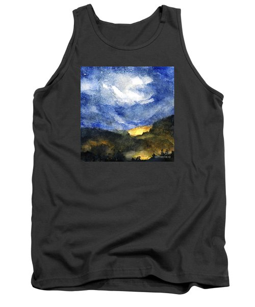 Hot Spots In Our Mountains Tonight Tank Top by Randy Sprout