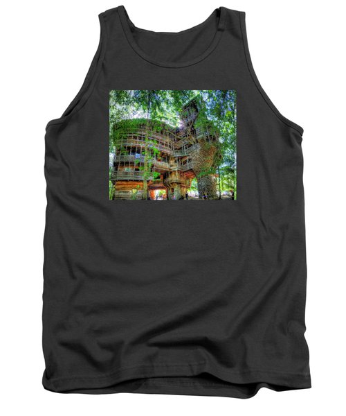 Tank Top featuring the painting Hotel California by Mario Carini