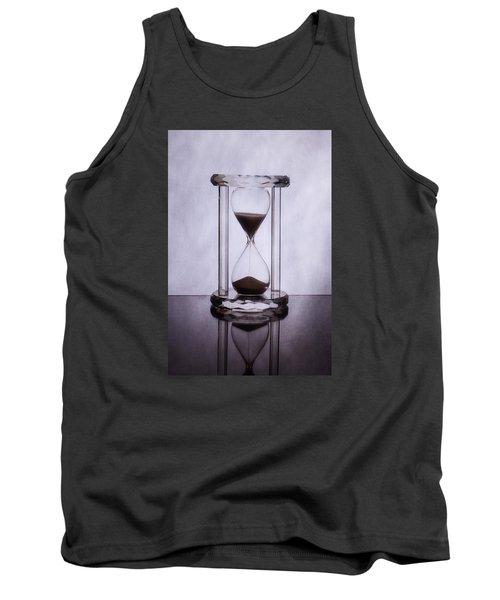 Hourglass - Time Slips Away Tank Top by Tom Mc Nemar