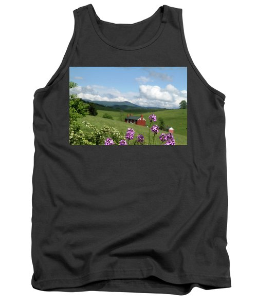 House On Hill In Lexington Tank Top by Emanuel Tanjala