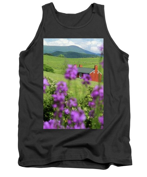House On Virginia's Hills Tank Top