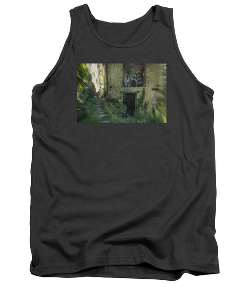 House With Bycicle Tank Top
