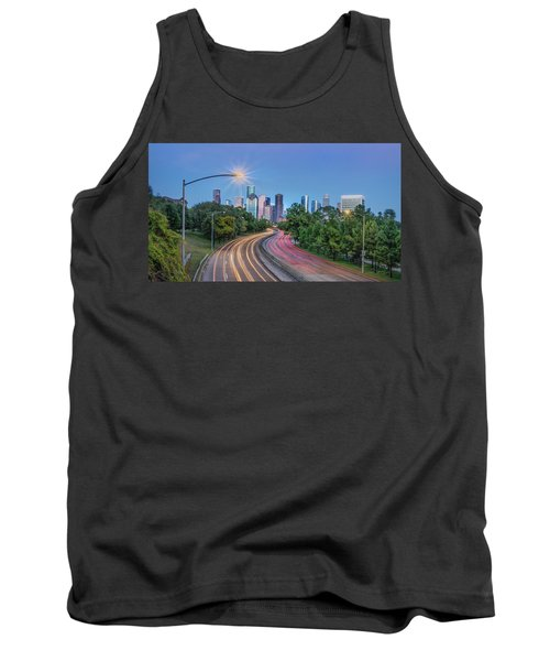Houston Evening Cityscape Tank Top