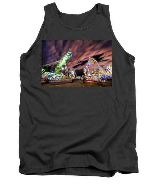 Houston Texas Live Stock Show And Rodeo #1 Tank Top by Micah Goff