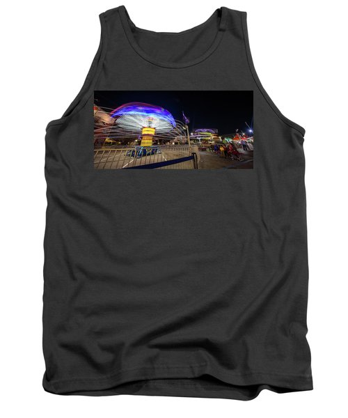 Houston Texas Live Stock Show And Rodeo #10 Tank Top by Micah Goff