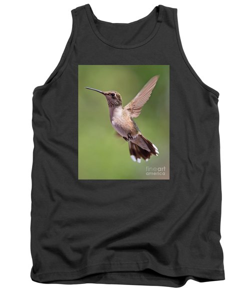 Hovering Hummer 1 Tank Top