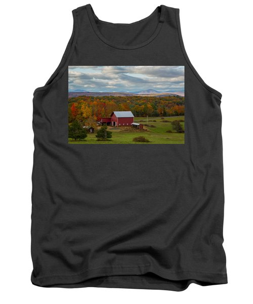 Hudson Valley Ny Fall Colors Tank Top