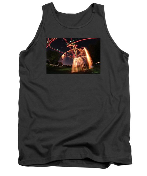 Hula Dancer Tank Top by Andrew Nourse