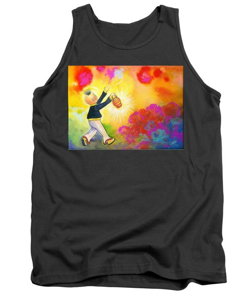 Hum Spreading Chi Tank Top