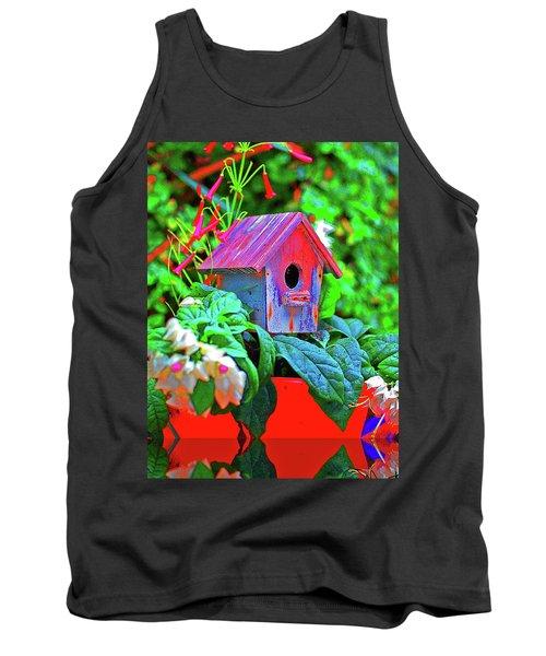 Humming Bird House Tank Top