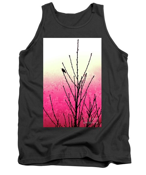 Hummingbird Valentine Tank Top