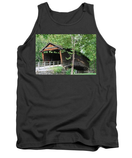 Tank Top featuring the photograph Humpback Bridge by Eric Liller