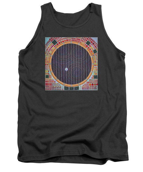 Hundertwasser Shuttle Window Tank Top