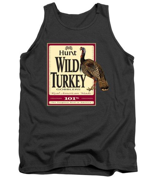 Hunt Wild Turkey Tank Top