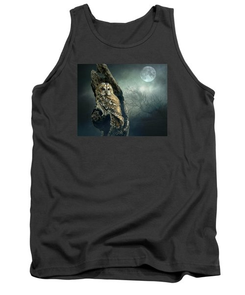 Hunter's Moon Tank Top by Brian Tarr