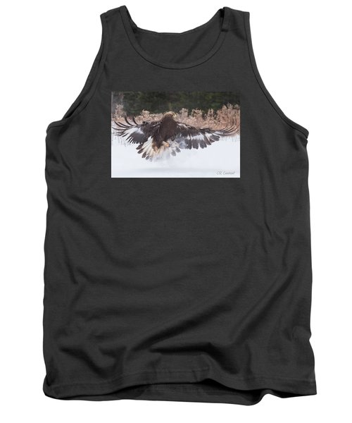 Hunting In The Snow Tank Top