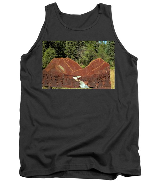 Hyalite Canyon Sculpture Tank Top
