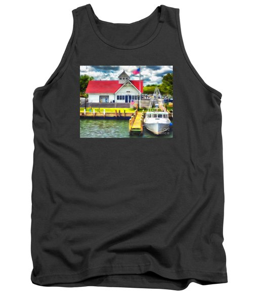Hyannis The Coastguard Tank Top by Jack Torcello