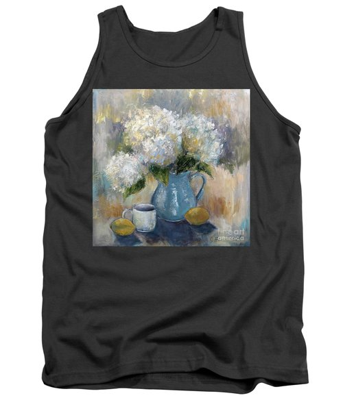 Hydrangea Morning Tank Top