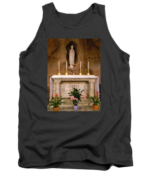 I Am The Immaculate Conception - Tiny Chapel On Crypt Level Tank Top