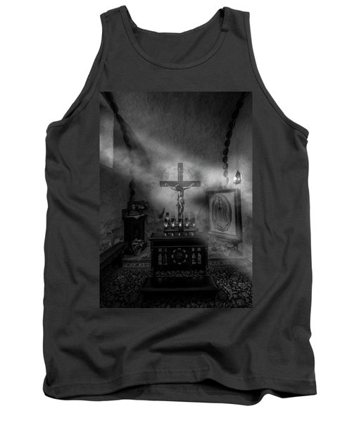 Tank Top featuring the photograph I Am The Light Of The World by David Morefield